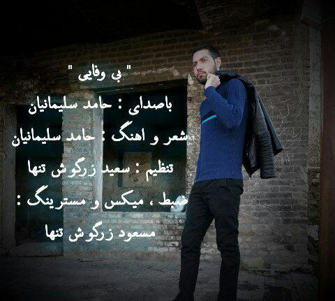 حامد سلیمانیان - بی وفایی
